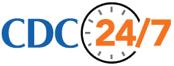 CDC 24/7 logo