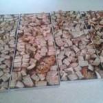 diced freeze dried pork tenderloins