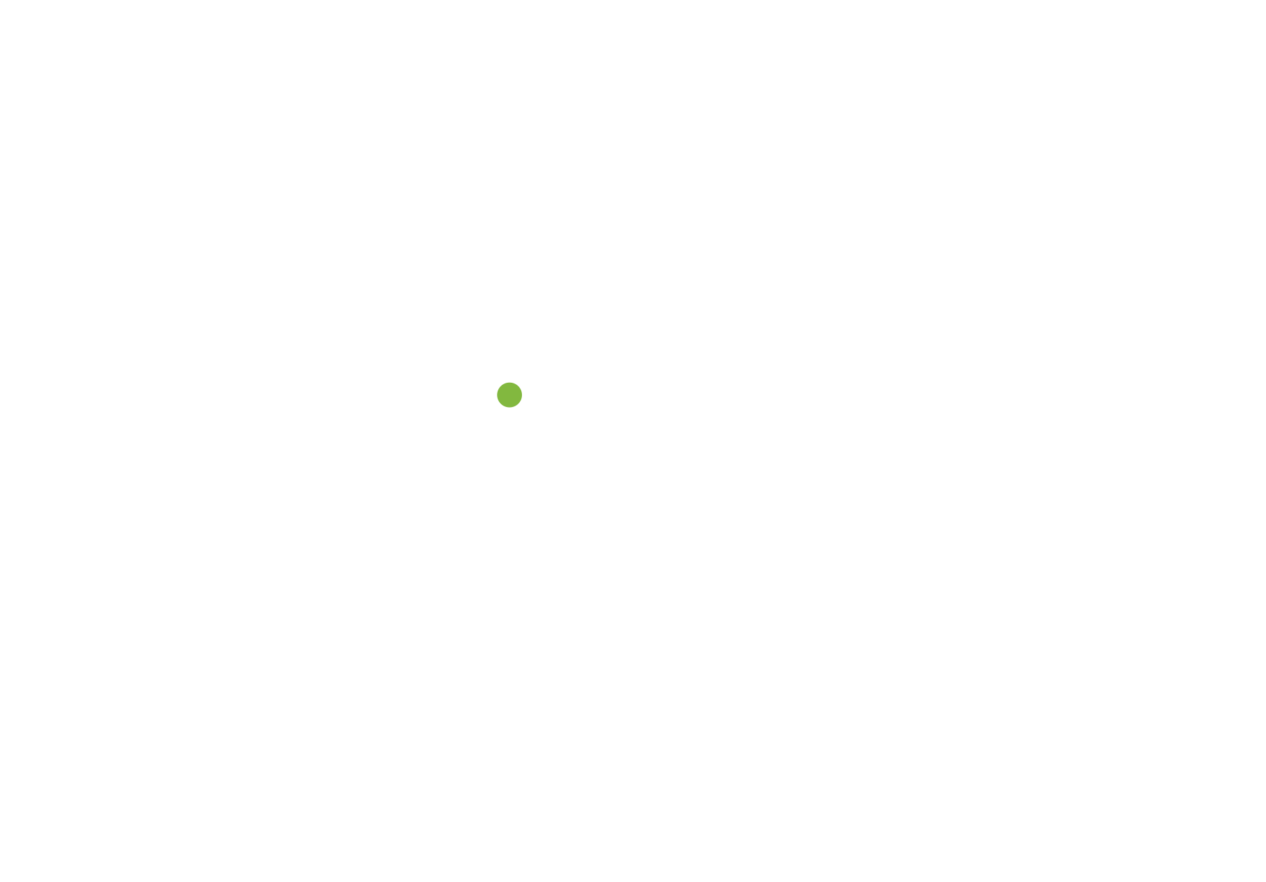 a green dotted line with a dot