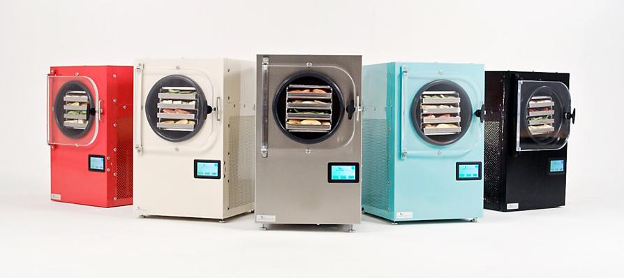 five freeze dryers