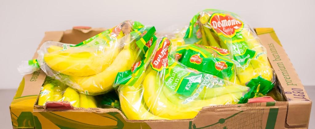 a box of bananas