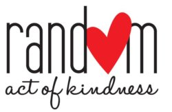 text: random act of kindness