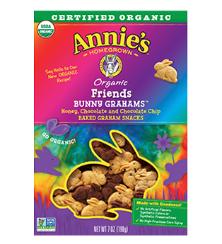 box of Annie's Bunny Grahams