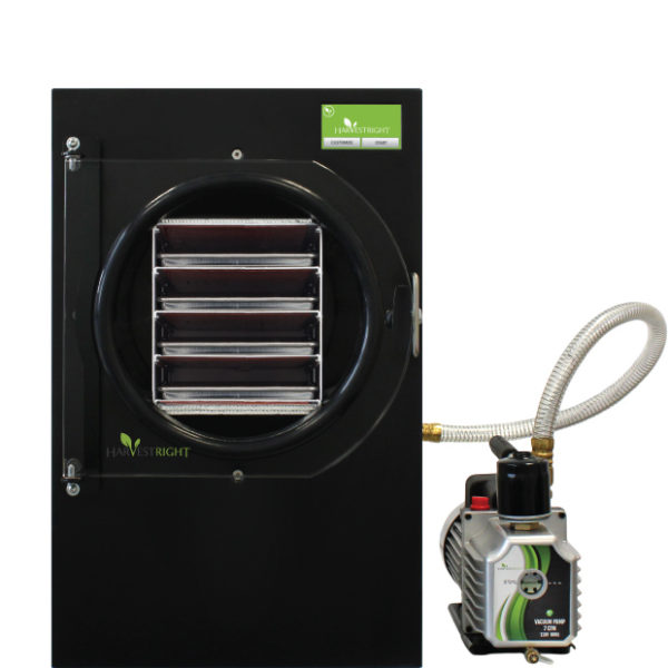 Black freeze dryer with pump
