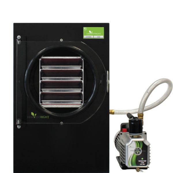 Black freeze dryer with pump