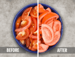 freeze dried tomatoes before and after