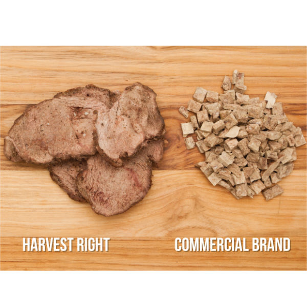 Freeze-dried meat