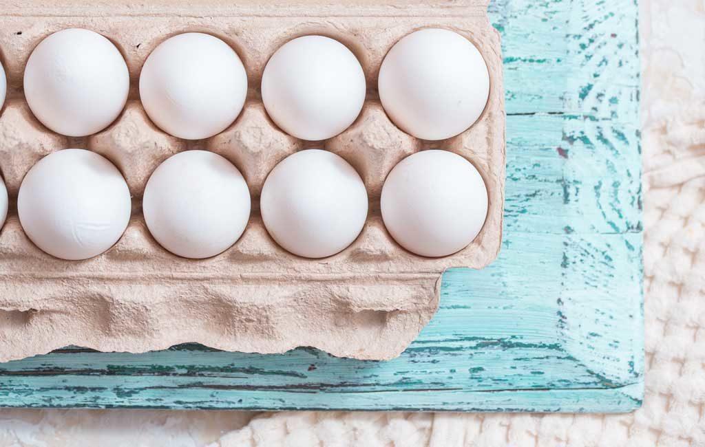eggs in a carton
