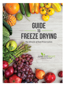 cover image for the guide to freeze drying