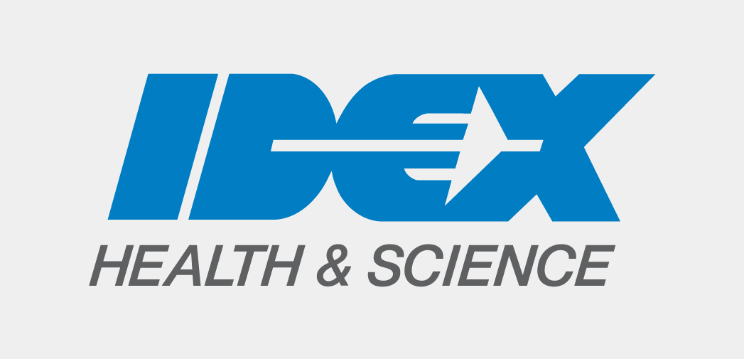 Logo for IDEX Health & Science