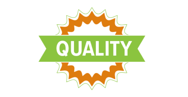 icon that says quality