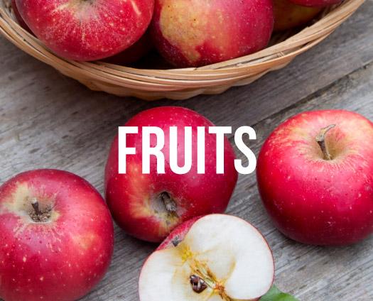 Fruits. Apples