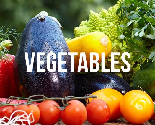 Vegetables. various vegetables