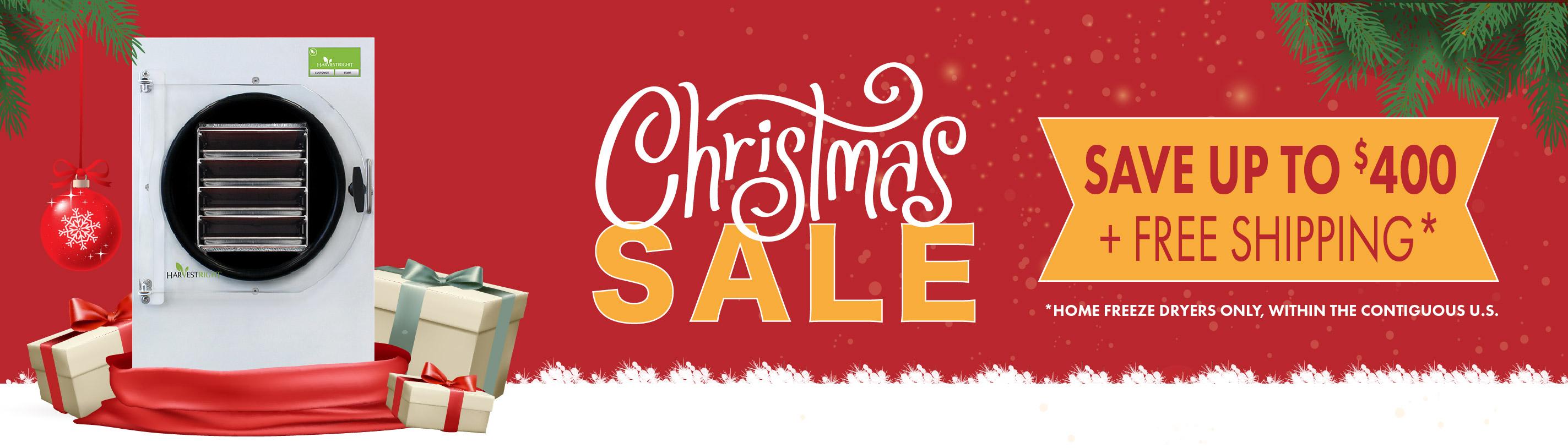 Christmas Sale - Save up to $400